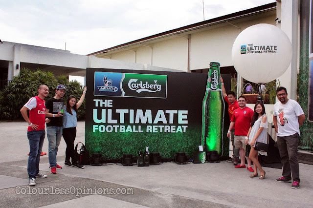 bloggers at carlsberg ultimate football retreat malaysia