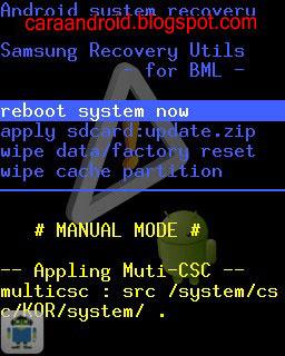 Cara Mudah Mencicipi Custom Rom CM7 di Galaxy Mini