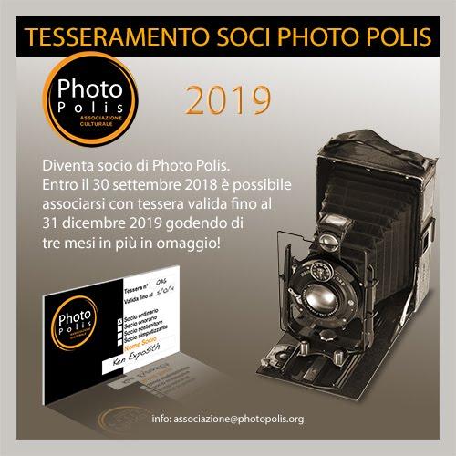 Tesseramento soci Photo Polis