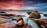 Cielo Rojo - Red Sky by Bobby Bong | clic para ampliar
