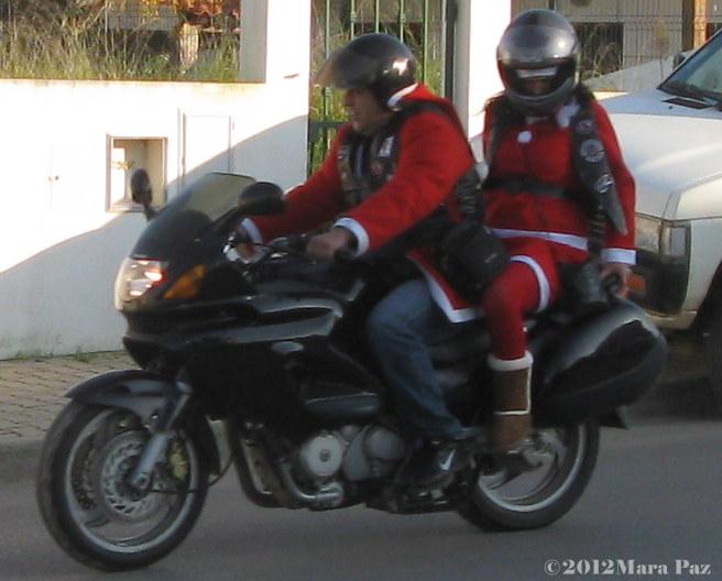 Biker Santas