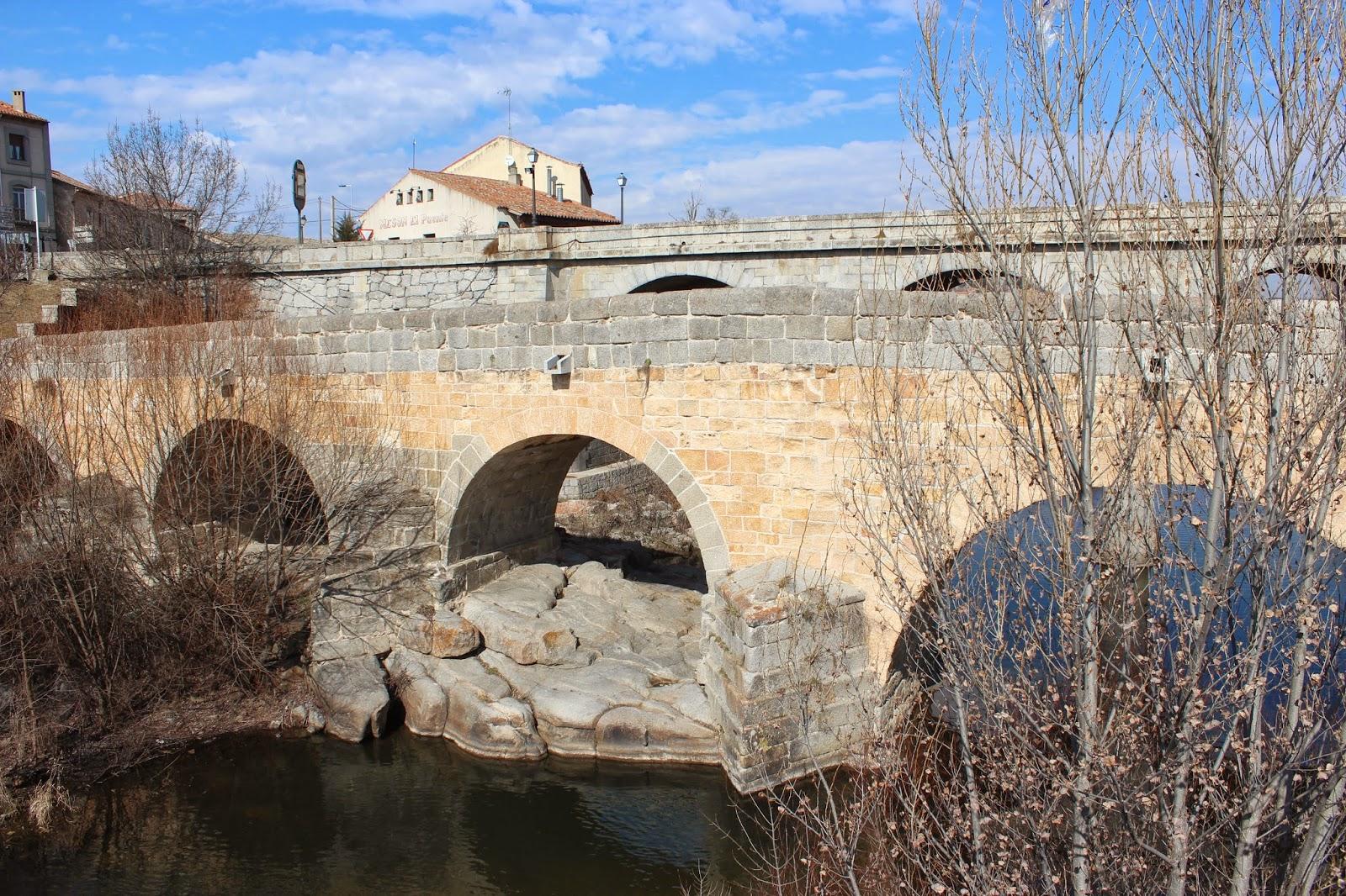 Puente del río Adaja en Ávila