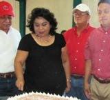 Cumple Sonia Cuevas Lider CNC Estado Campeche Aniversario Natalicio en Calkiní. 13Mar2011.