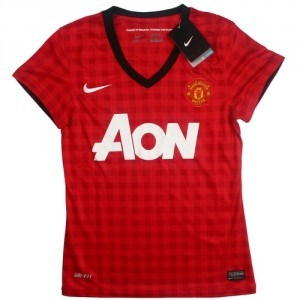 Ladies Jersey Manchester United Home 12/13