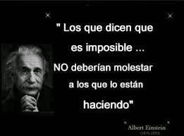 Una frase impactante de Albert Einstein