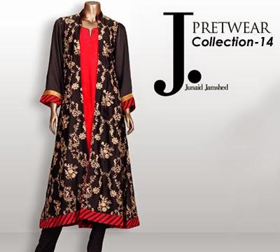 Junaid Jamshed Pret Wear Collection 2014 - Fashion Hunt World