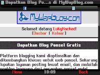 Platform Ngeblog yang cocok Untuk di HP