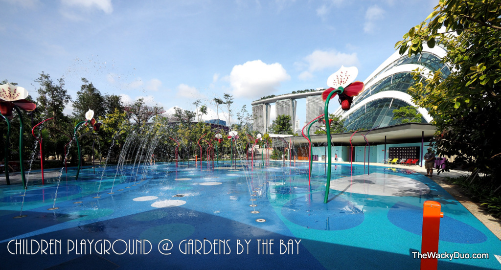 Garden By The Bay Water Park children playground @ gardensthe bay | the wacky duo