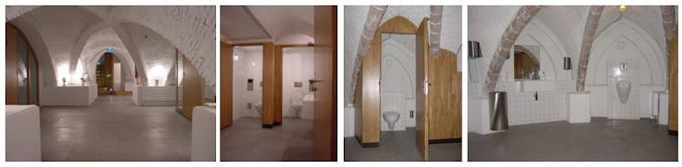 nieuwe toiletgroepen vondelkerk amsterdam