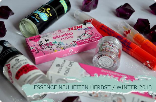essence Neuheiten Herbst/ Winter 2013