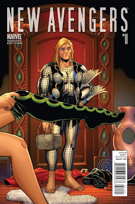 New Avengers Vol 2 11 Variant Thor Hollywood The 72 Best Comic Book Covers of 2011