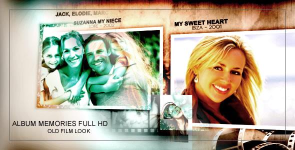 Album memories Old Film Look - Full HD