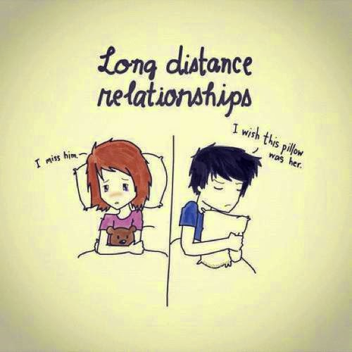 Long distance relationship quotes for her and him