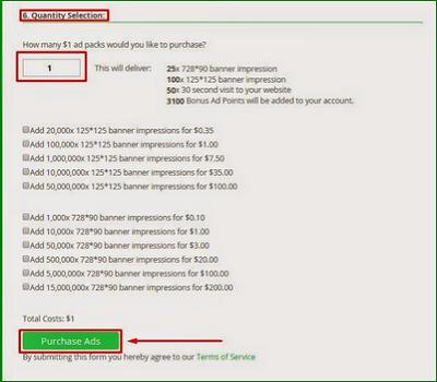 Cara Mendapatkan Dollar dari Paidverts