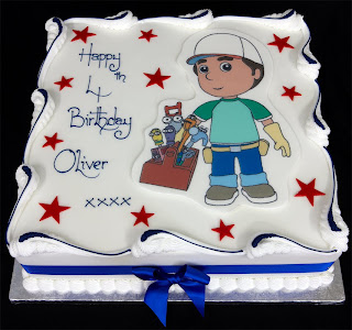 Handy Manny Birthday Cake Toppers