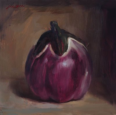 Best-jzaperoilpaintings-Heirloom-Eggplant-Oil-Paintings-Image