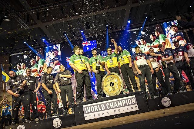 Mistrzostwa Świata drwali, Poznań 2015