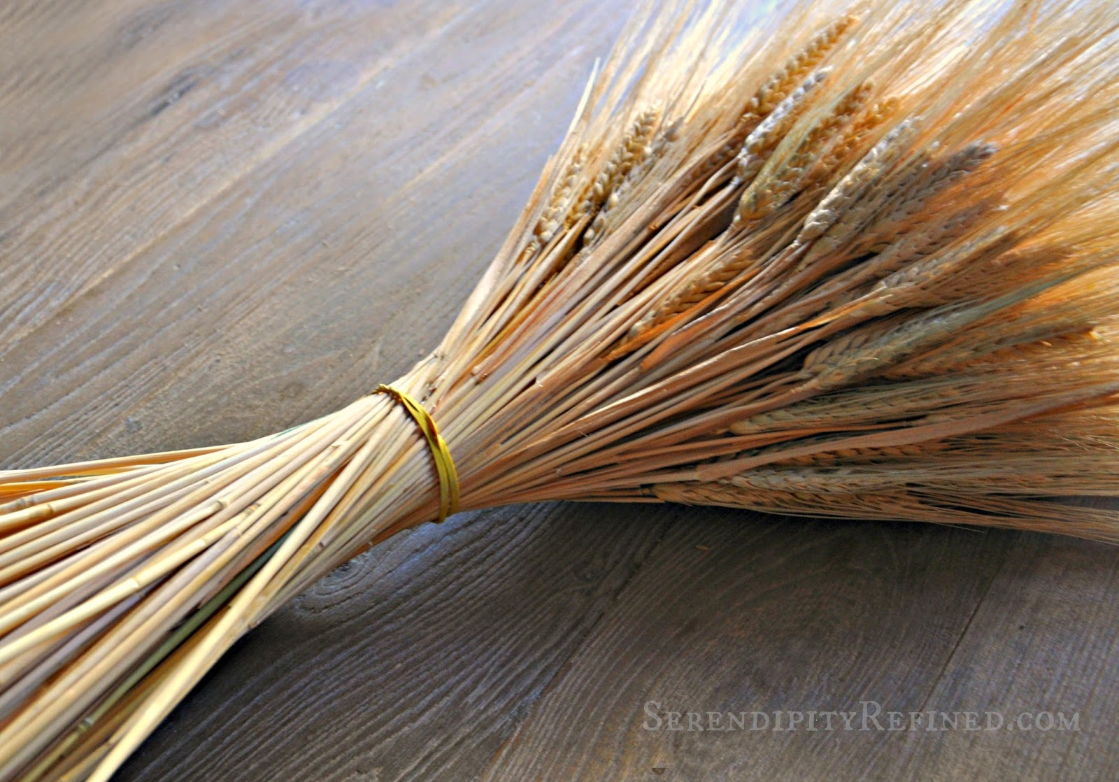 Serendipity Refined Blog Diy Fall Wheat Bundle Table
