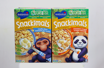 Barbara's Snackimals Cereals - Vanilla Blast & Cinnamon Crunch
