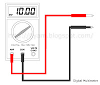 Digital Multimeter Ampere Function
