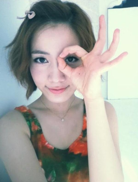 t-ara hwayoung selca photo