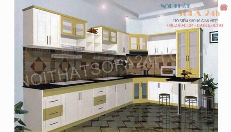 Tủ bếp TB077