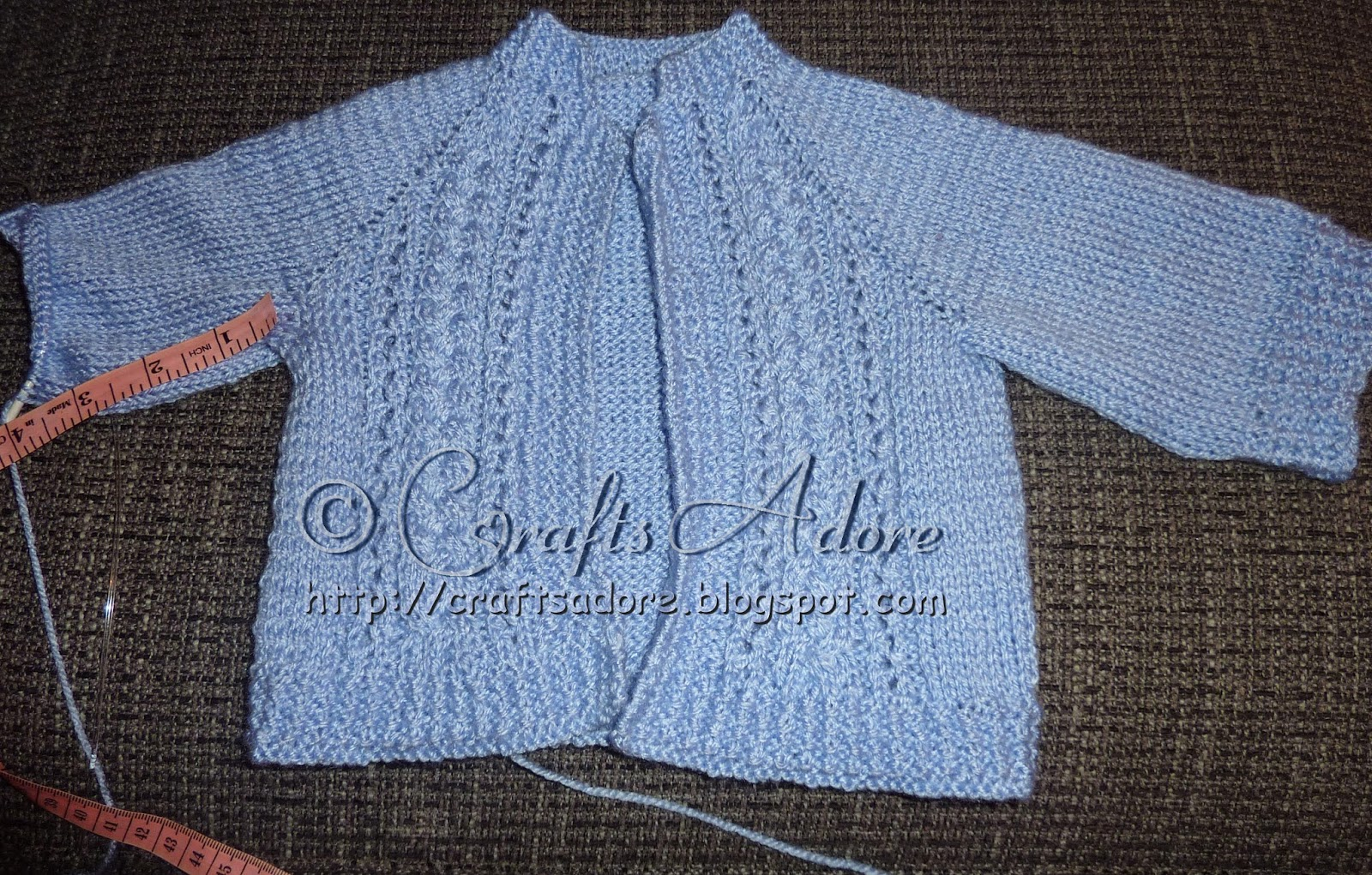 Knitted Baby Boy Cardigan Free Pattern