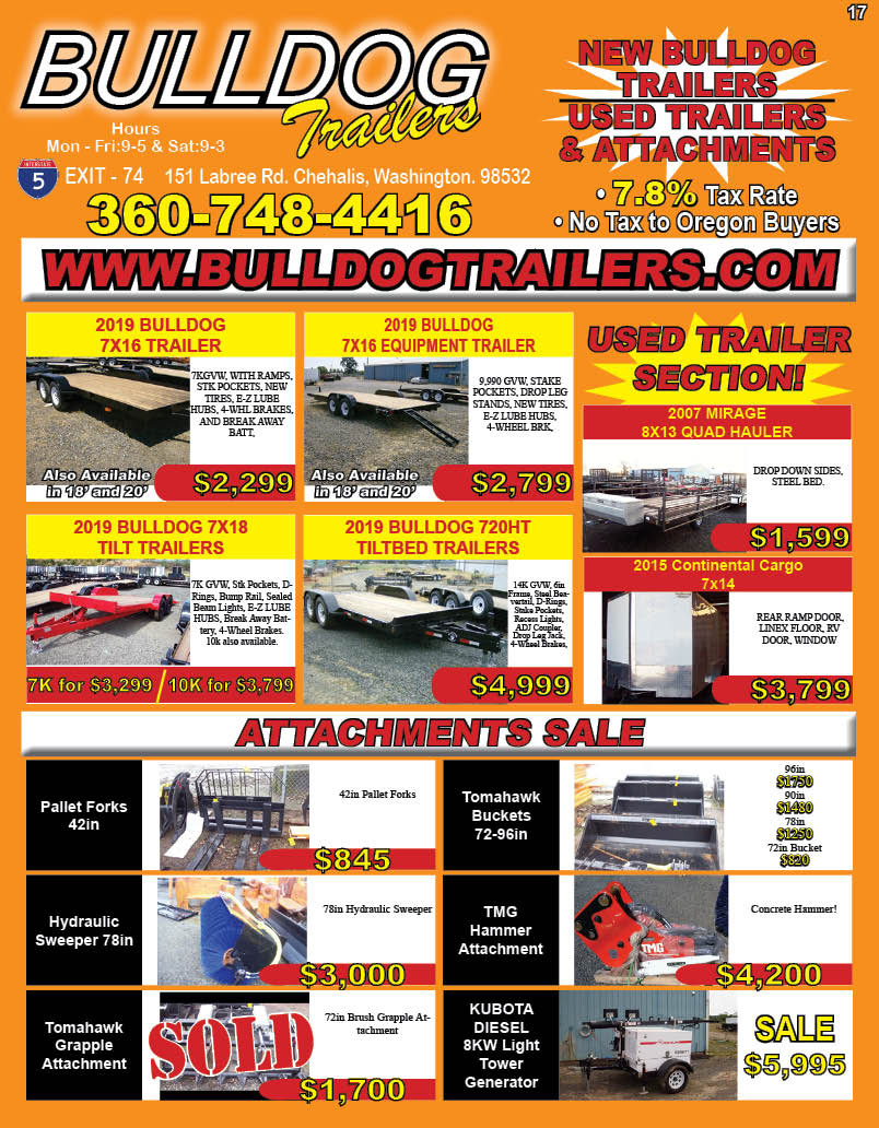 Bulldog Trailers MFG & Sales