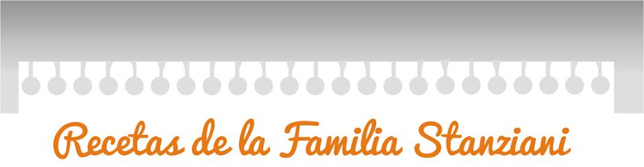 Recetas de la Familia Stanziani