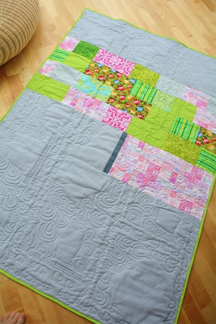 Eulen-Quilt für A. @frauvau.blogspot.de