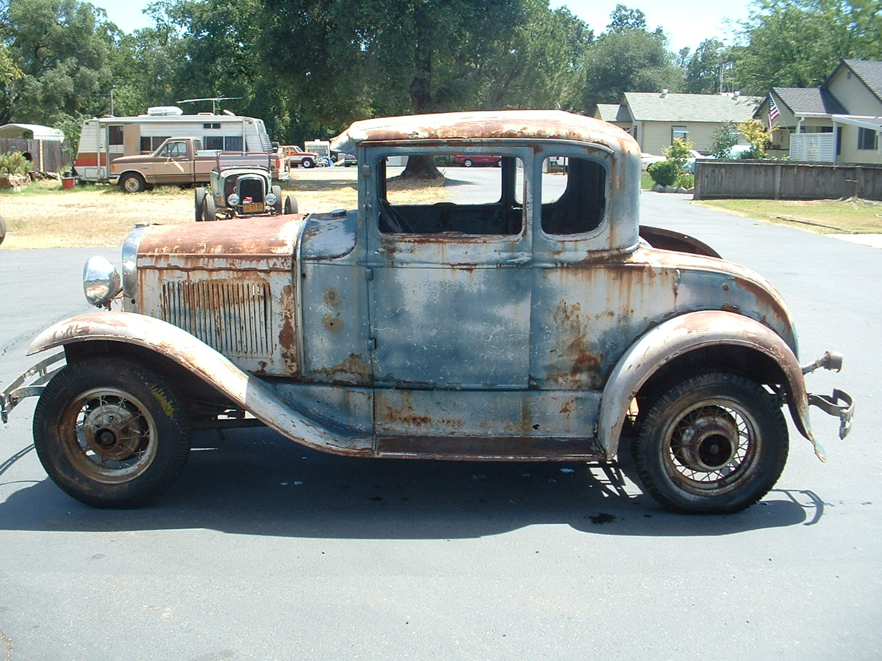 1930 ford coupe project for sale autos post. Black Bedroom Furniture Sets. Home Design Ideas
