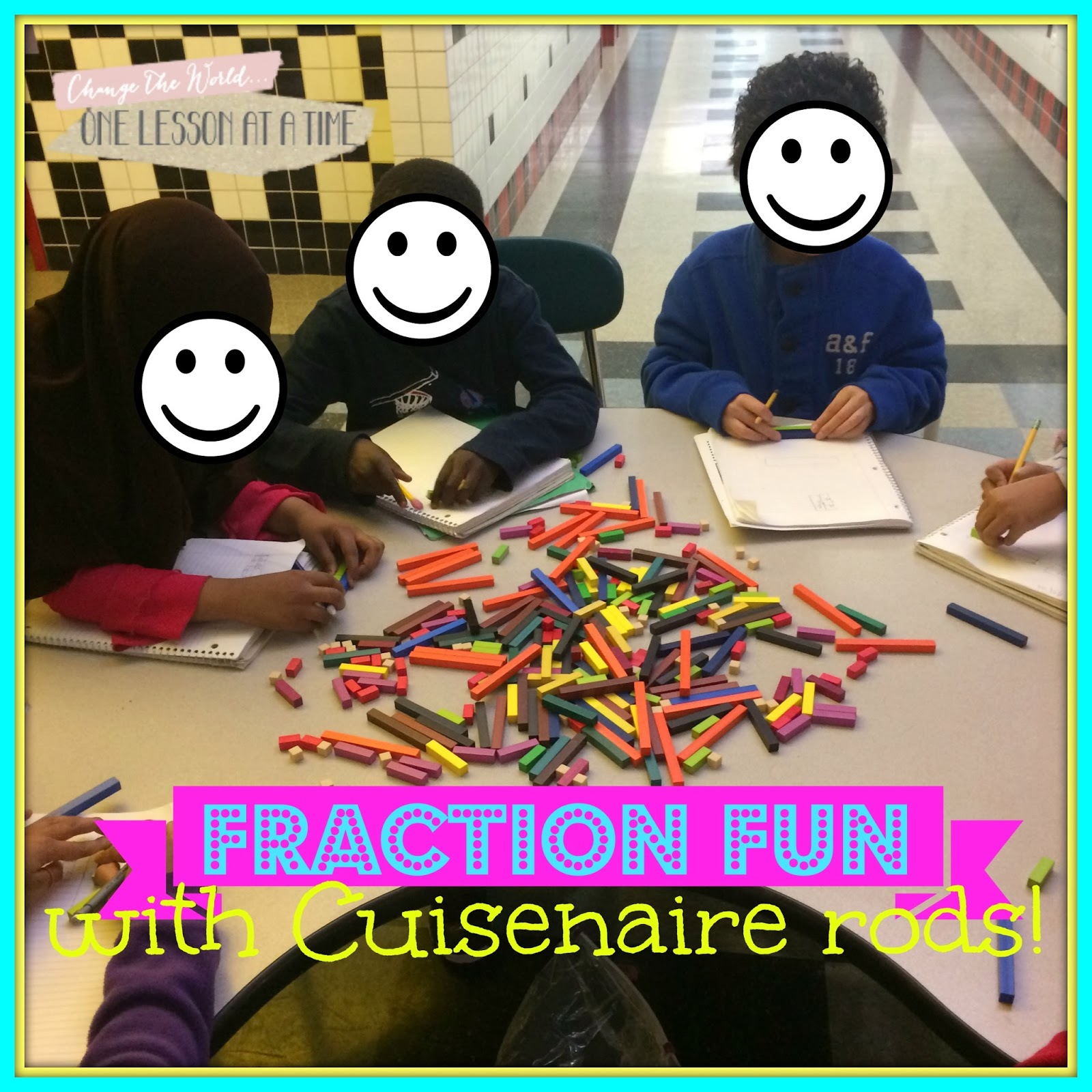 Blair Turner From One Lesson At Time Does A Great Job Explaining How To Use  Cuissinaire Rods (and Pattern Blocks) To Teach Fractions
