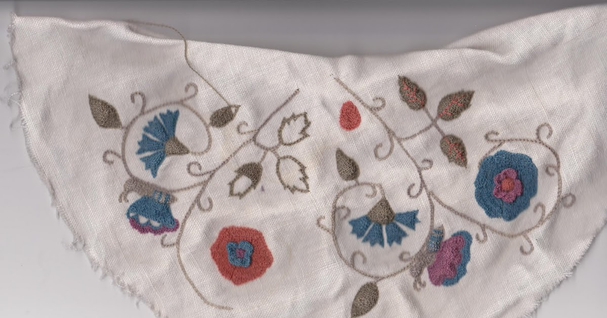 No Strings Attached Elizabethan Embroidery Primer
