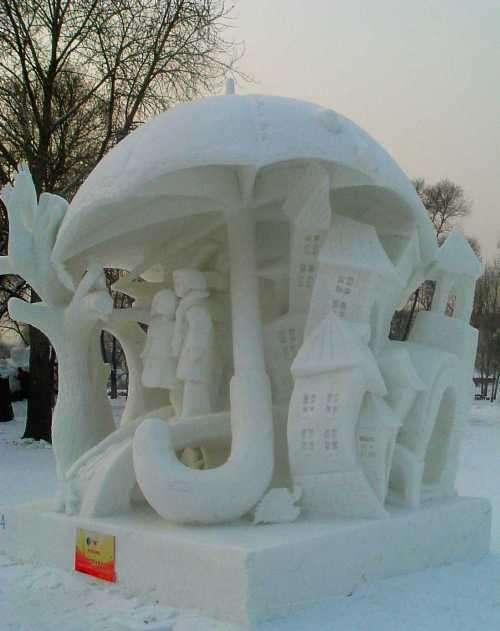 amazing art of snow - photo #27