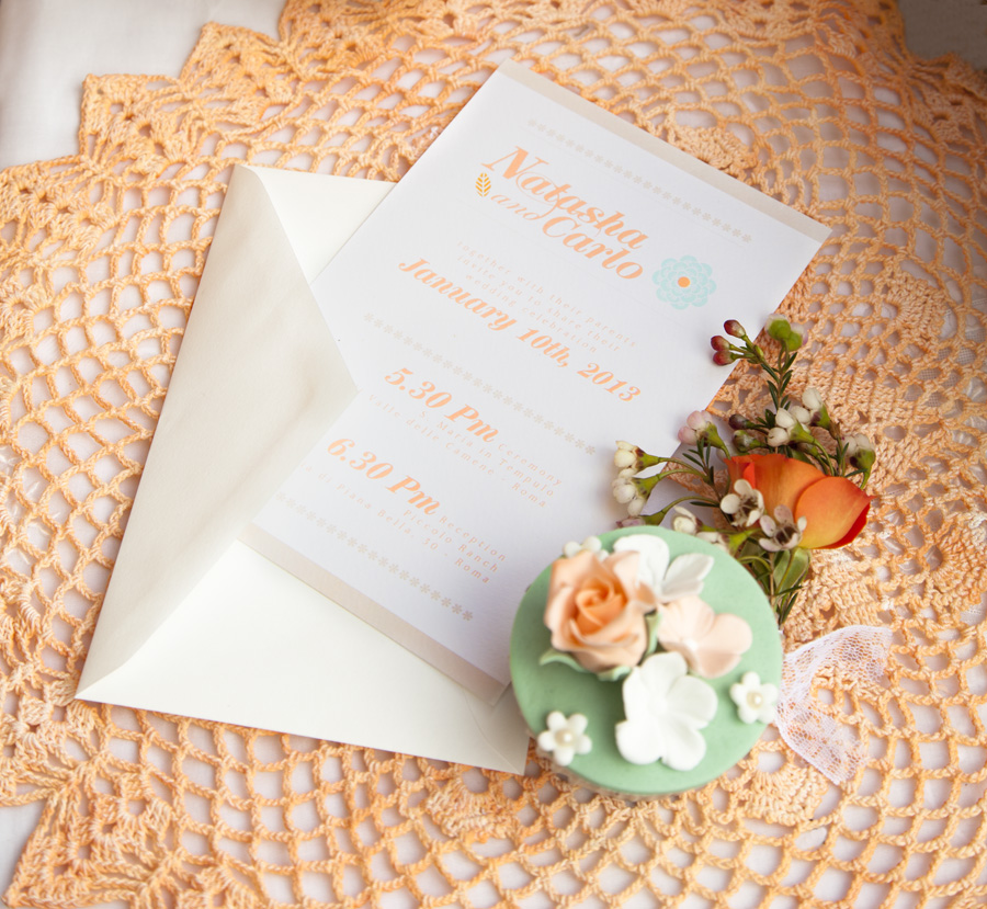 Partecipazioni Matrimonio Country Chic Fai Da Te : Partecipazioni per matrimonio tra il vintage e lo shabby