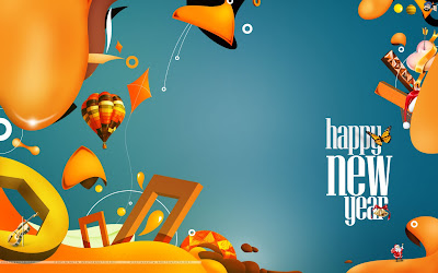 Happy New Year 2013 Wallpaper Animation