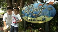 Camayan Beach Resort, The Reef Bar and Restaurant