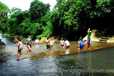 spillway dam pangil river laguna