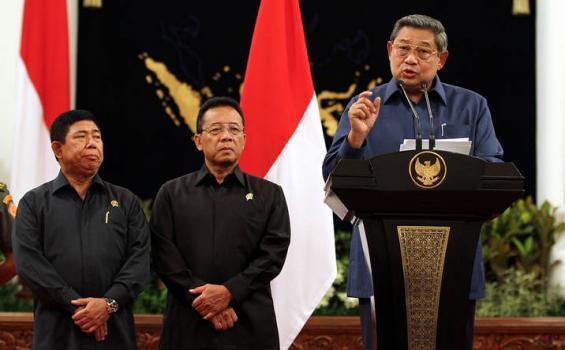 SBY : Kasus Korupsi Simulator SIM Ditangani KPK