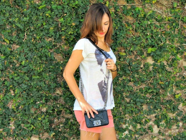look t-shirt Donna Dellas