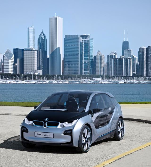 ActiveE Mobility: Driving An Electric BMW 1-Series: Tesla