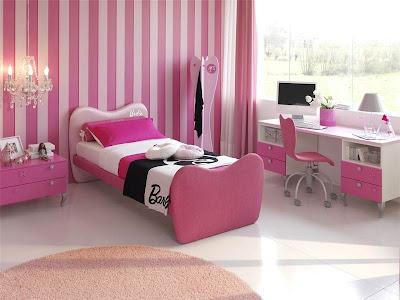 barbie+%25C3%25A7ocuk+odas%25C4%25B1+dizaynlar%25C4%25B1 Pembe Kız Genç ve Çocuk Odası Modelleri