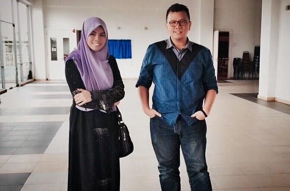 Gambar Tunang Blogger Eazy Izzuddin