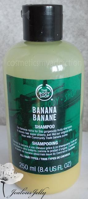Bananowy szampon do włosów The Body Shop