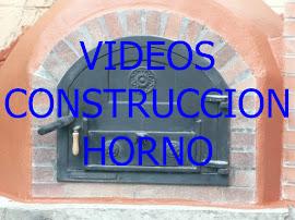 Vídeos Construcción del horno