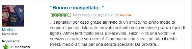 Ristorante Il Circolo dei Lettori Torino Opinioni