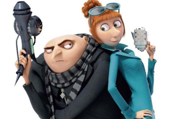 Gru and Lucy Despicable Me 2 2013 animatedfilmreviews.blogspot.com
