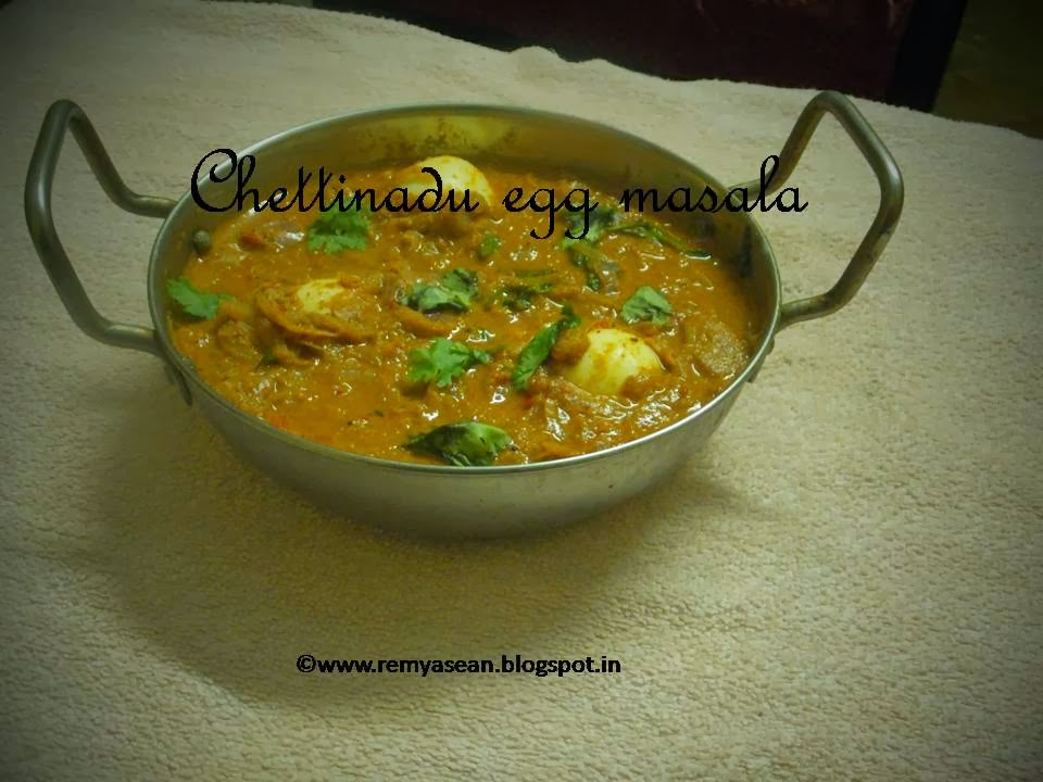 Chettinadu Egg Masala