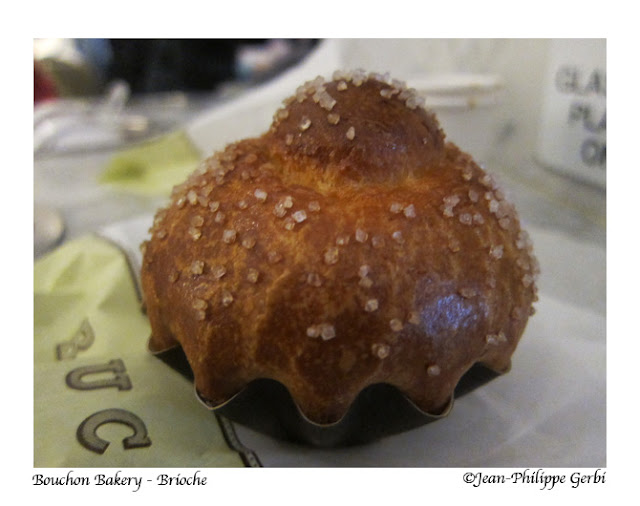 Image of Brioche at Bouchon Bakery at Columbus Circle Time Warner Building in NYC, New York