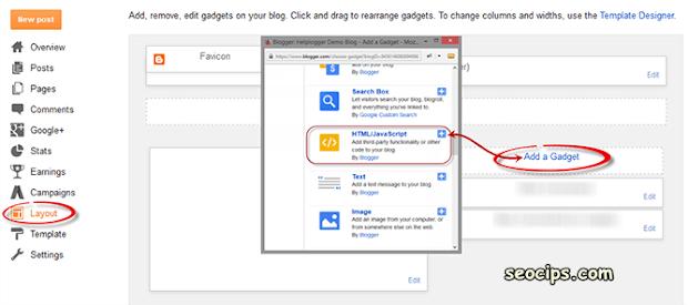 Menampilkan widget Berdasarkan Label di Blogger